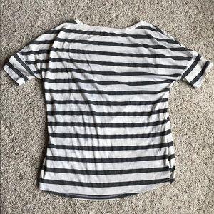 Michael Stars Tops - Michael Stars striped short sleeve shirt